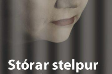 Kápa bókarinnar Stórar stelpur fá raflost